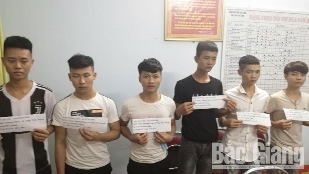 Dùng tuýp sắt tấn công 4 công nhân; Đội Cảnh sát hình sự Công an huyện Yên Dũng, cố ý gây thương tích