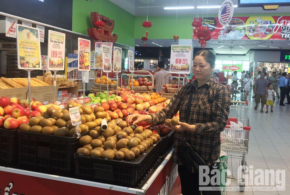 Giá nông sản Mỹ tại thị trường Bắc Giang giảm mạnh