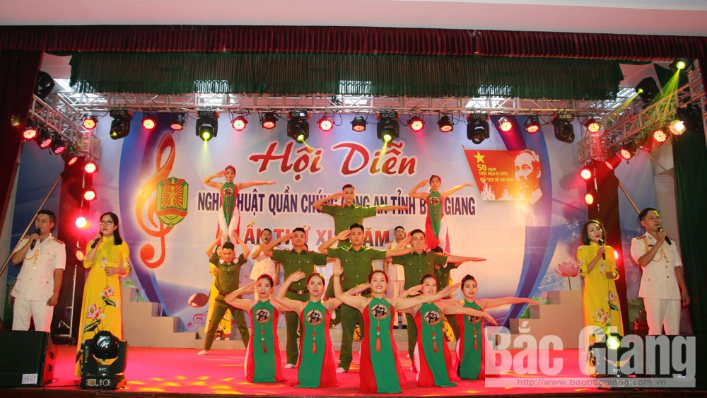 Hội diễn nghệ thuật quần chúng, Công an tỉnh Bắc Giang