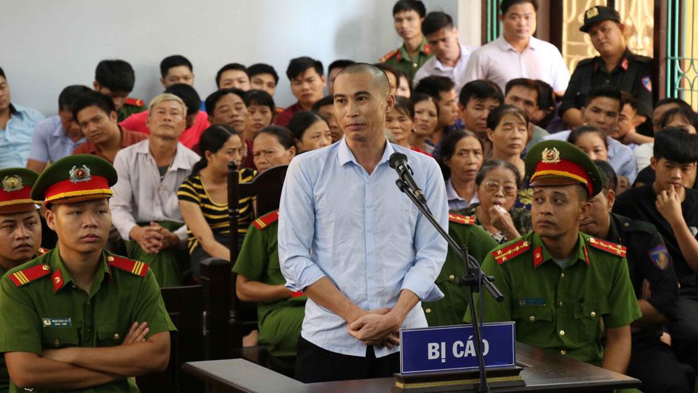 Tuyên án, tử hình hung thủ, giết 2 vợ chồng, TP Hưng Yên, Đinh Công Tráng,