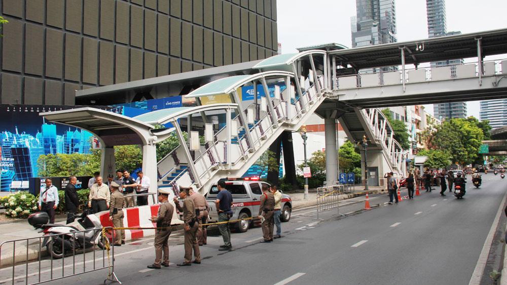Thái Lan, bắt giữ, nghi can, liên quan, vụ đánh bom tại Bangkok