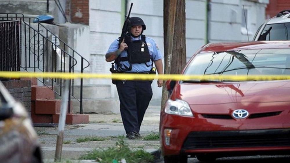 Mỹ, 6 cảnh sát bị thương, vụ nổ súng tại Philadelphia