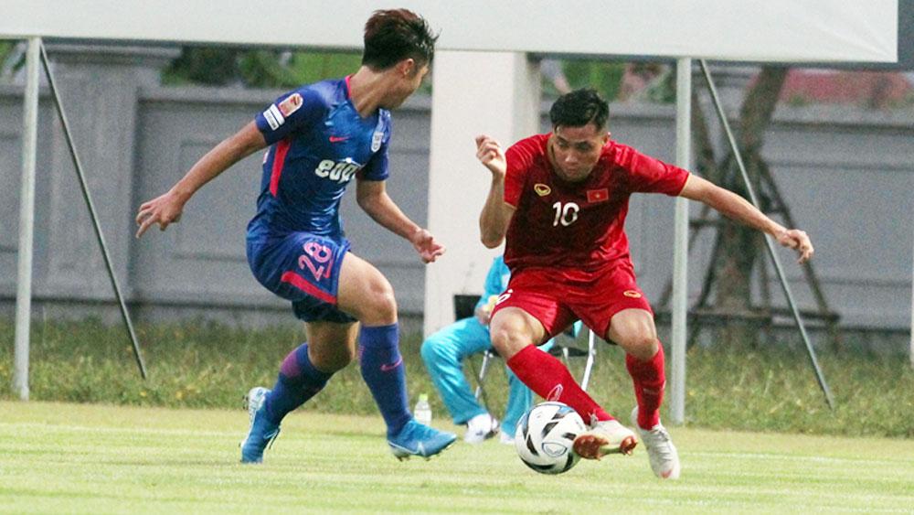 U22 Việt Nam thắng 2-0 CLB Kitchee của Hồng Kông (Trung Quốc)
