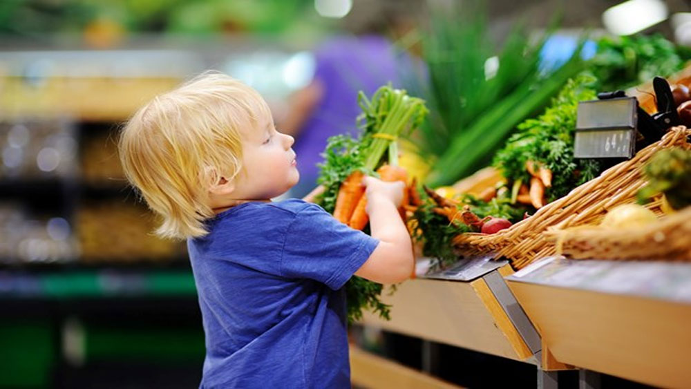 Ăn uống lành mạnh giúp cải thiện tình trạng tăng động ở trẻ em
