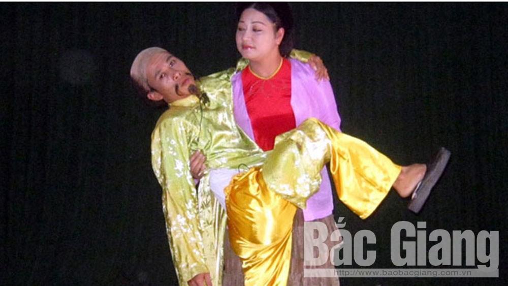 Bắc Giang, diễn viên chèo, Anh Tuấn, nghệ sĩ ưu tú, Nhà hát Chèo Bắc Giang, phong tặng danh hiệu Nghệ sĩ ưu tú