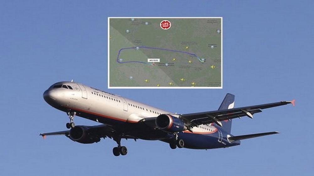 Nga, Máy bay chở khách, hạ cánh khẩn cấp