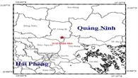 Động đất làm rung lắc ở Quảng Ninh
