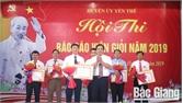 Hội thi báo cáo viên giỏi huyện Yên Thế năm 2019
