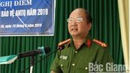 Lục Nam tổ chức hội nghị điểm Ngày hội toàn dân bảo vệ an ninh Tổ quốc