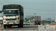 Nhiều yếu tố tiềm ẩn mất an toàn giao thông trên quốc lộ 1, đoạn qua tỉnh Bắc Giang