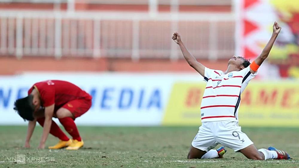 Clip: Việt Nam bị loại ở giải U18 Đông Nam Á