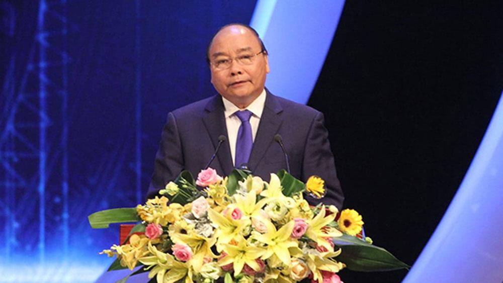 Thủ tướng Nguyễn Xuân Phúc, Báo chí, coi trọng, tính khách quan, chân thực,khai thác, xử lý thông tin, tham nhũng, lãng phí