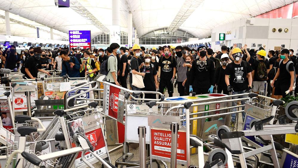Cảnh sát Hong Kong, bắt giữ, hơn 700 đối tượng biểu tình quá khích