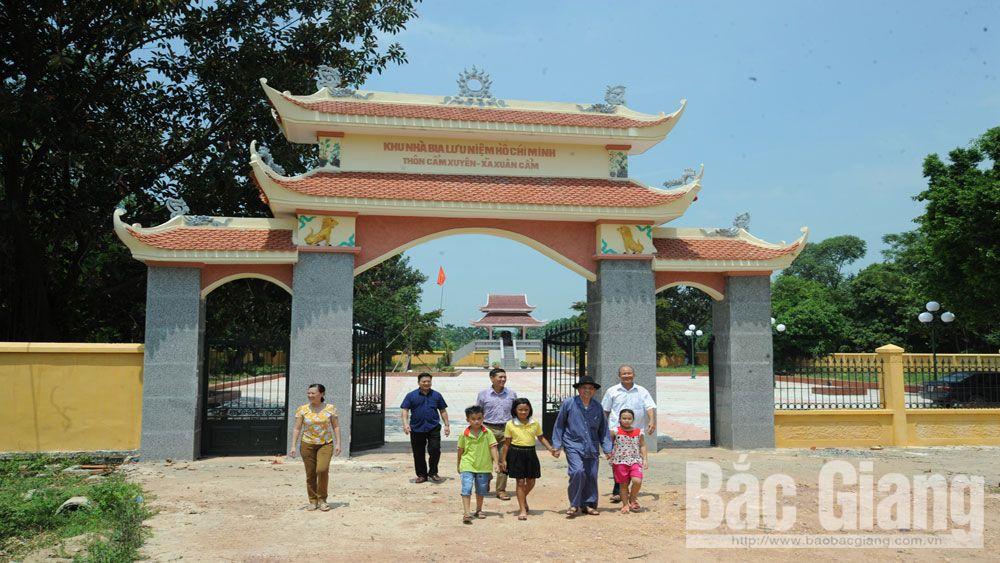 xuân cẩm, vùng quê cách mạng, nông thôn mới, Bắc Giang