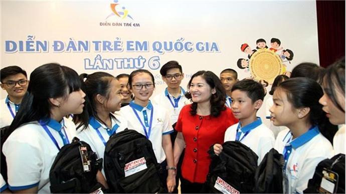 2019 national children's forum opens in Hanoi