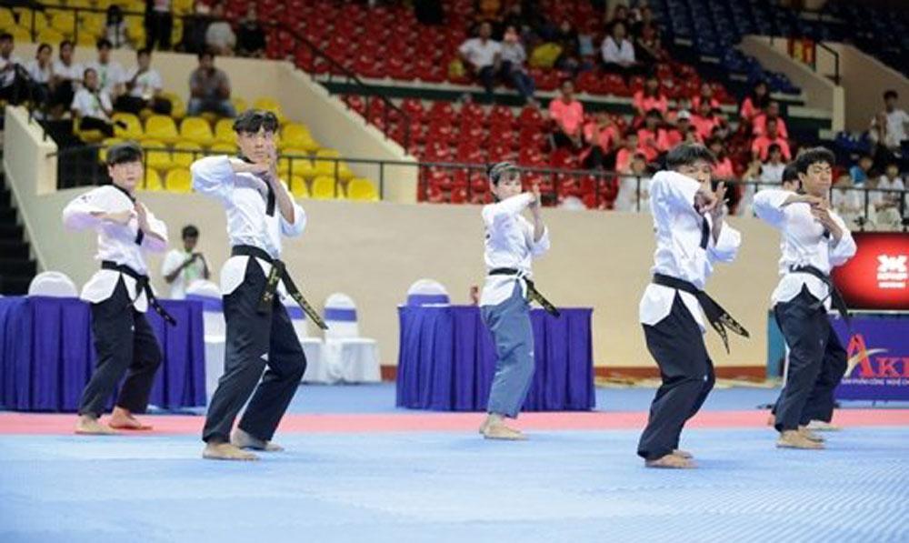 Asian Open Taekwondo Championship, HCM City, four-day competition, taekwondo powerhouses, opening ceremony