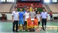 TP Bắc Giang nhất toàn đoàn giải vô địch đá cầu toàn tỉnh