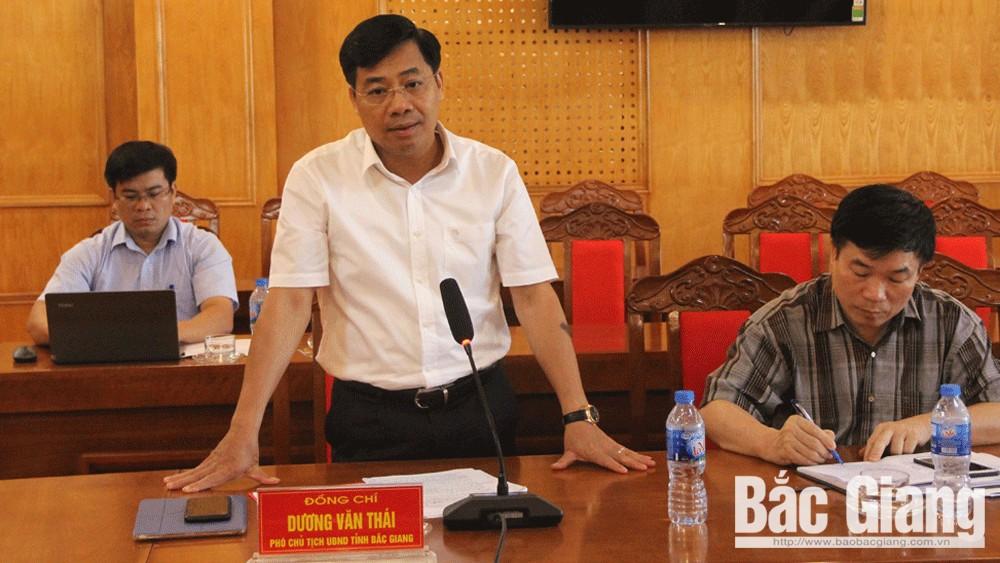 Chủ tịch UBND tỉnh, Nguyễn Văn Linh, làm việc, Tân Yên