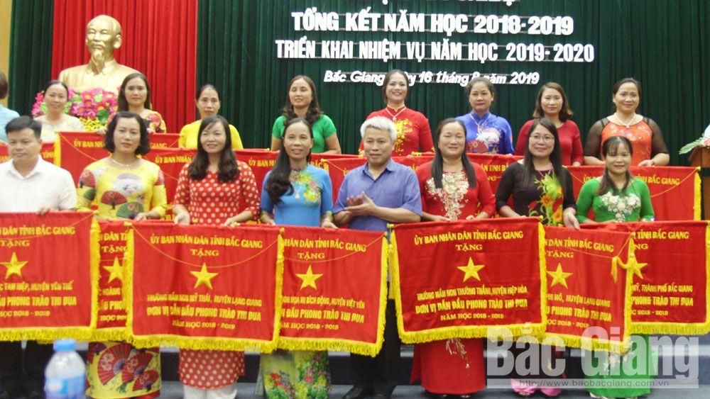 Sở Giáo dục và Đào tạo Bắc Giang, giáo dục, Bắc Giang, tổng kết, năm học 2019-2020, Trần Tuấn Nam
