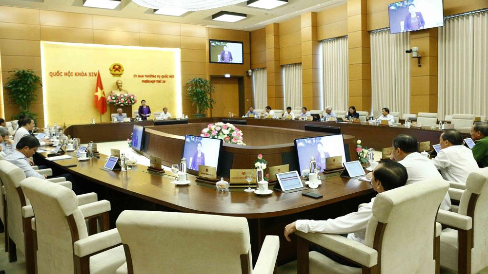 Bế mạc,  phiên họp thứ 36, Ủy ban Thường vụ Quốc hội