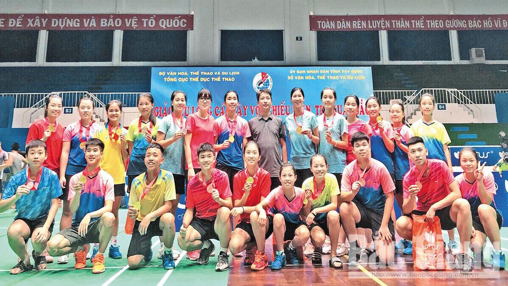 Bac Giang province, promising young athletes, Bac Giang's sport, outstanding performances, high achievements,  sport career