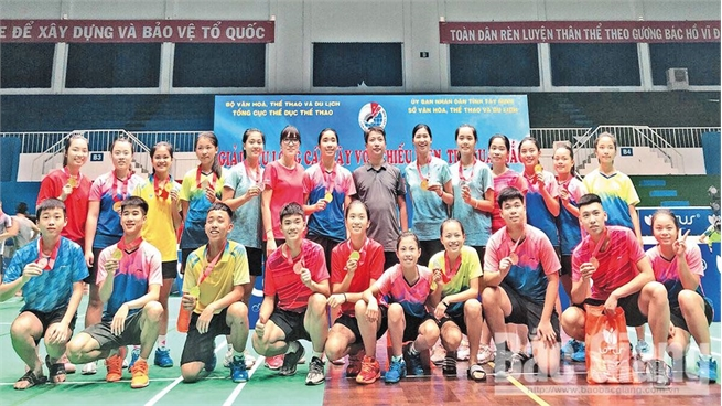 Bac Giang has many promising young athletes