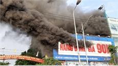 Bắc Giang: Cháy lớn tại siêu thị 90K
