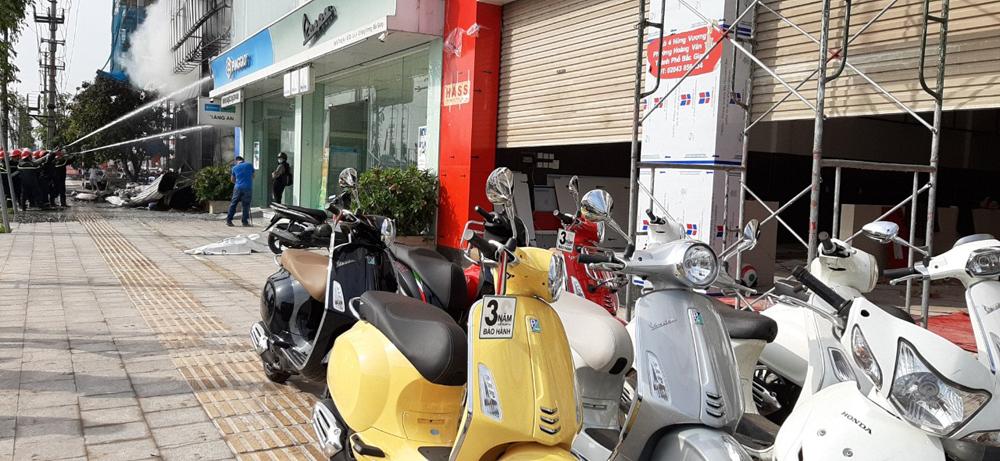 Bắc Giang, hỏa hoạn, siêu thị, kinh doanh quần áo đồ gia dụng, thiệt hại, phòng cháy chữa cháy