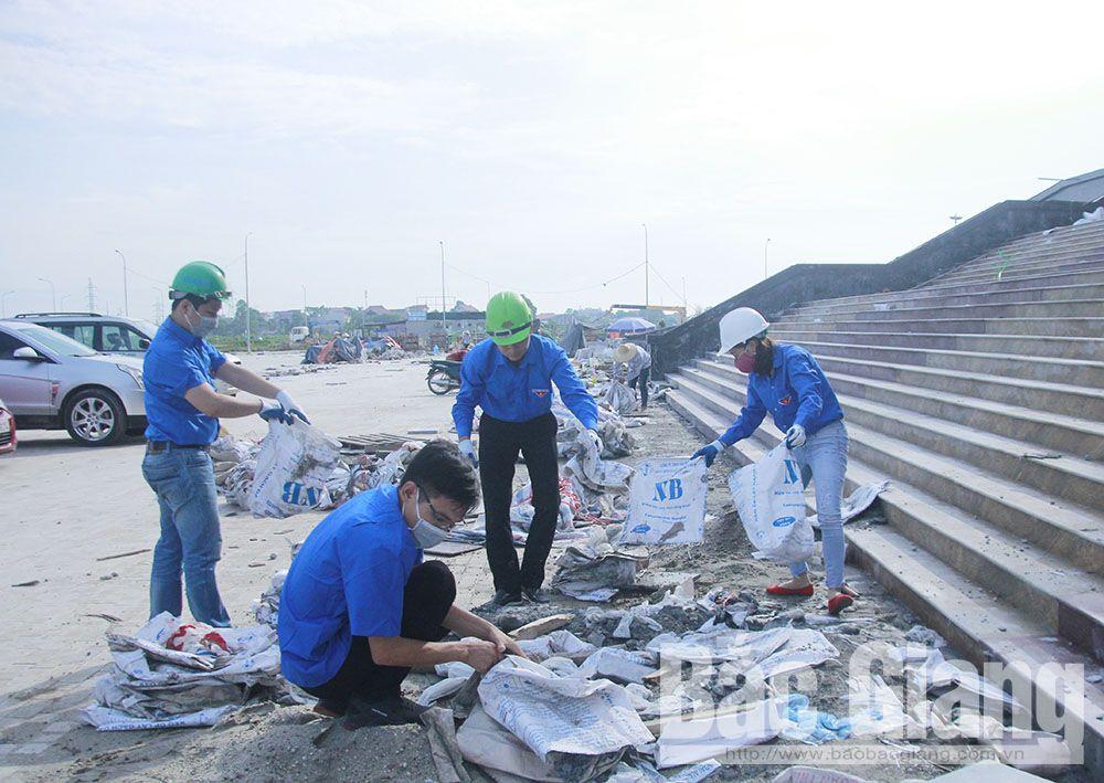 Bắc Giang, ngày thứ bảy tình nguyện, mùa hè xanh