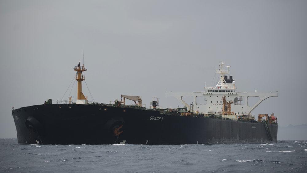 Căng thẳng vùng Vịnh, Mỹ, ra lệnh, tàu chở dầu Grace 1 của Iran