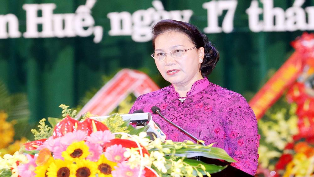 Chủ tịch Quốc hội Nguyễn Thị Kim Ngân, Lễ Kỷ niệm, 30 năm Ngày tái lập tỉnh Thừa Thiên Huế,