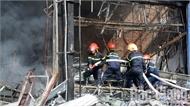 Vụ cháy siêu thị 90K ở TP Bắc Giang: Không có thiệt hại về người, thiêu rụi hàng tỷ đồng tiền hàng hóa