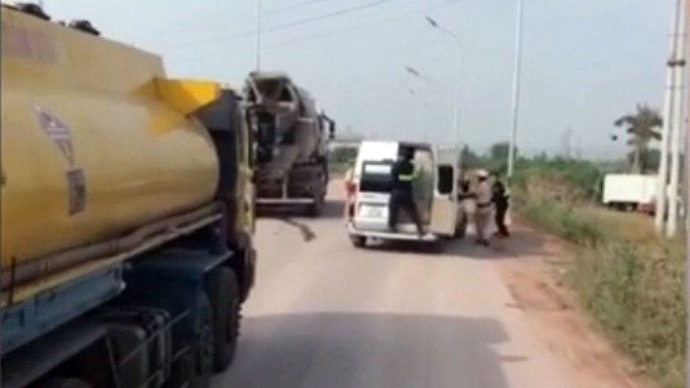 cao tốc, Hà Nội - Bắc Giang, cảnh sát giao thông, Công an tỉnh Bắc Giang.