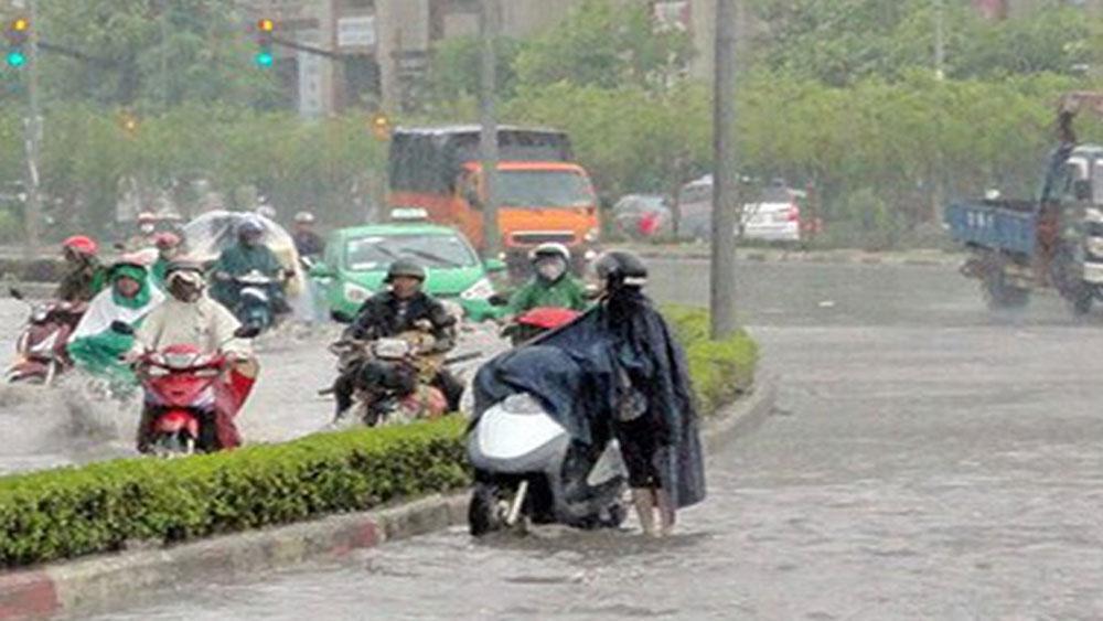 Dự báo thời tiết ngày 18-8: Bắc Bộ đề phòng dông lốc