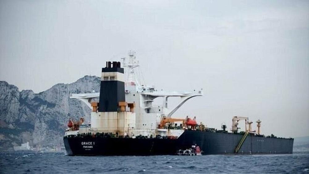 Căng thẳng vùng Vịnh, Tàu Grace 1 của Iran, rời Gibraltar, bất chấp sức ép của Mỹ