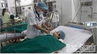 Bệnh viện Đa khoa tỉnh Bắc Giang cấp cứu ca vỡ gan do tai nạn lao động