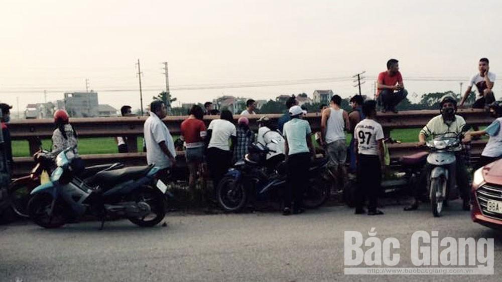 tai nạn, giao thông, tử vong, đường sắt, Lạng Giang.