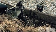 Bắc Giang: Hai người đi xe máy tử vong do va chạm với tàu hỏa