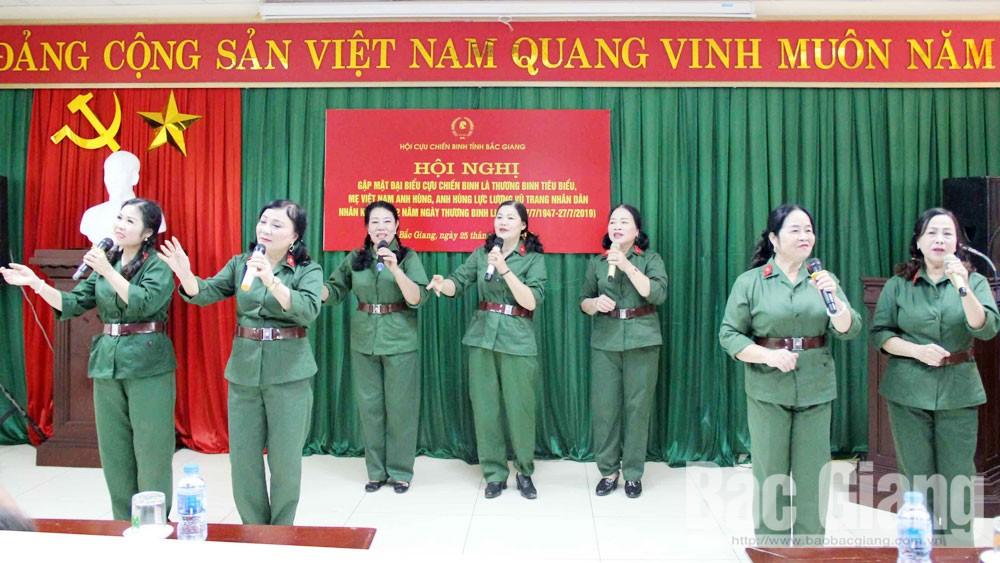 Bắc Giang, chiến sĩ Trường Sơn, văn nghệ xung kích,  đồng đội, lời ca, tiếng hát