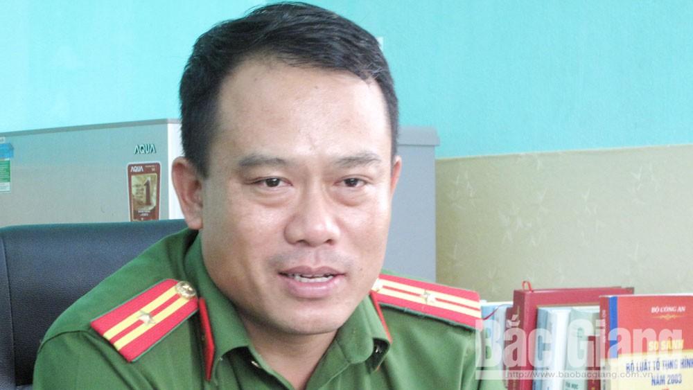 Thiếu tá Phạm Công Mạnh (Công an huyện Lục Nam): Nắm chắc địa bàn, gắn bó với nhân dân