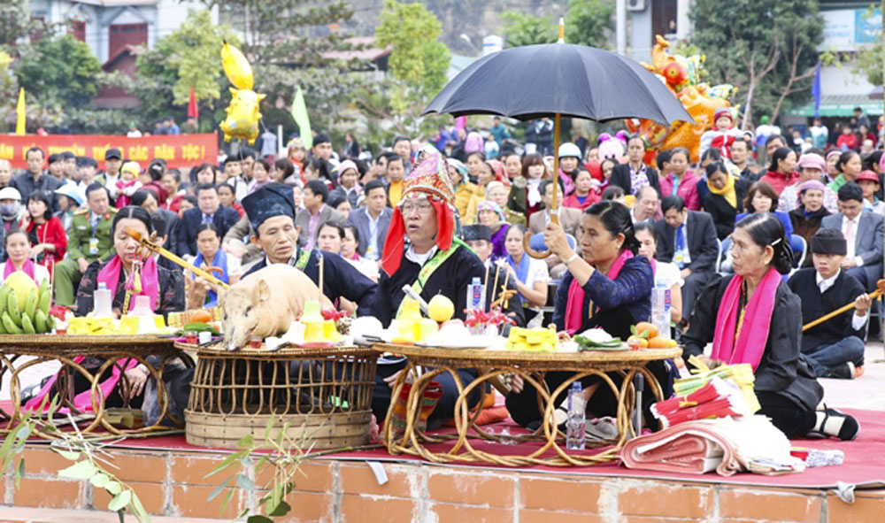 Traditional cultural values, northwestern region, ethnic culture, Son La province, culture, sports and tourism festival, cultural preservation and promotion