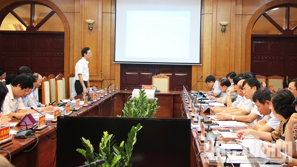 Bắc Giang, thường kỳ tháng 8, tập trung, đẩy nhanh
