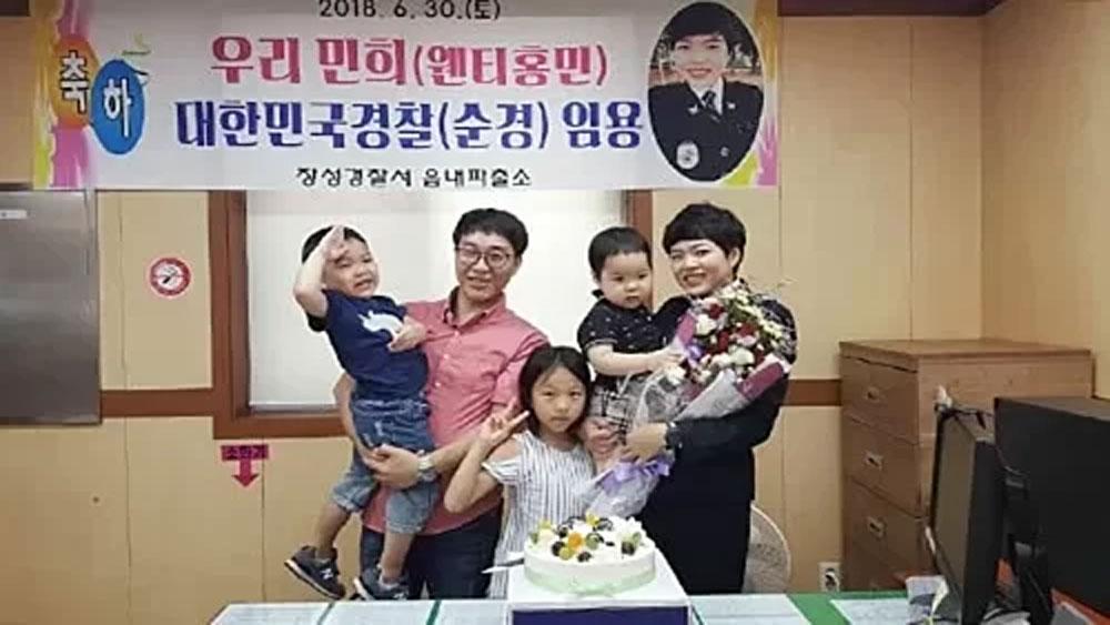 Vietnamese community, South Korea, Nguyen Hong Minh, South Korean policewoman, main motivations, occasional interpreter