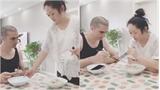 Vợ dằn mặt chồng mê điện thoại trước bữa ăn