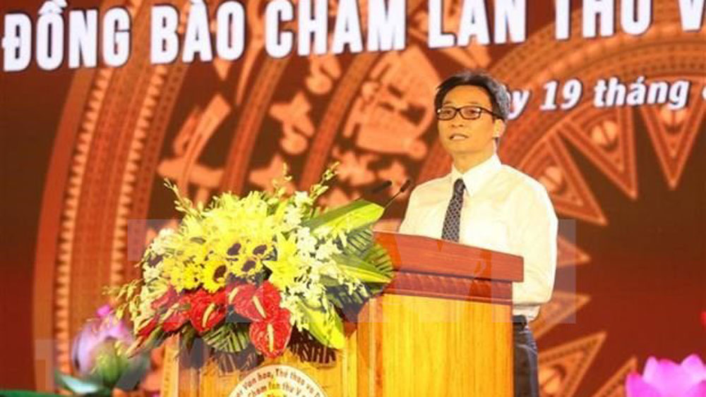 Deputy PM bestows Cham tower national special relic title