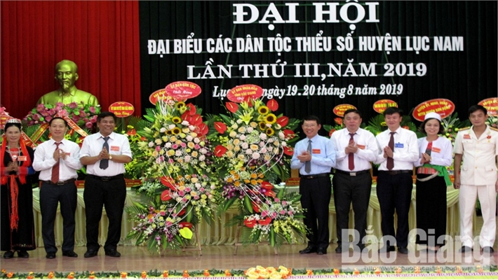 Đại hội đại biểu các DTTS huyện Lục Nam lần thứ III: Phấn đấu giảm hộ DTTS nghèo xuống dưới 10%