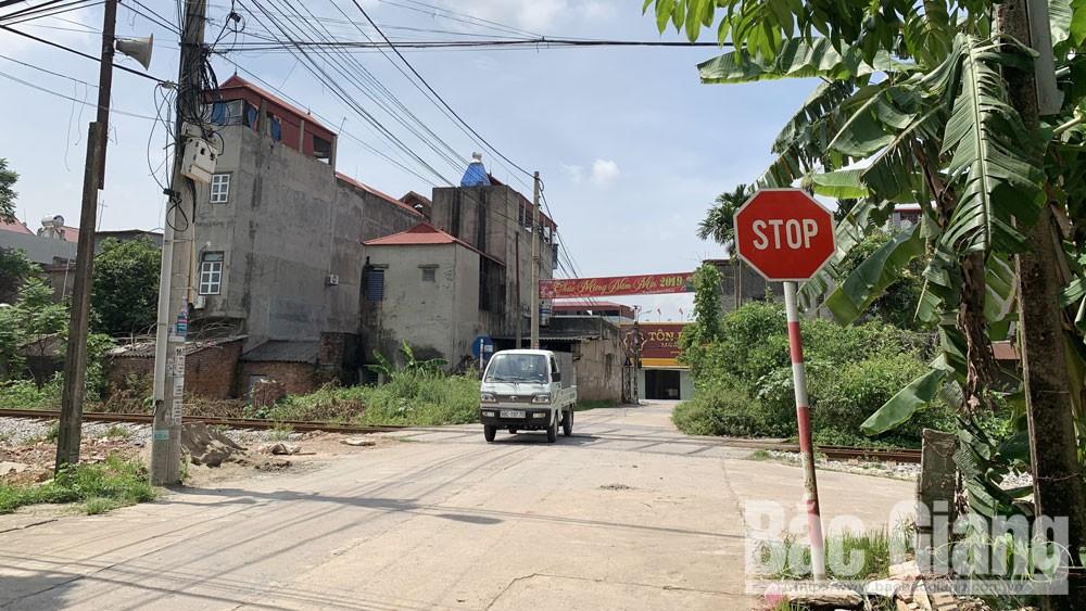 đường sắt, tai nạn, Bắc Giang