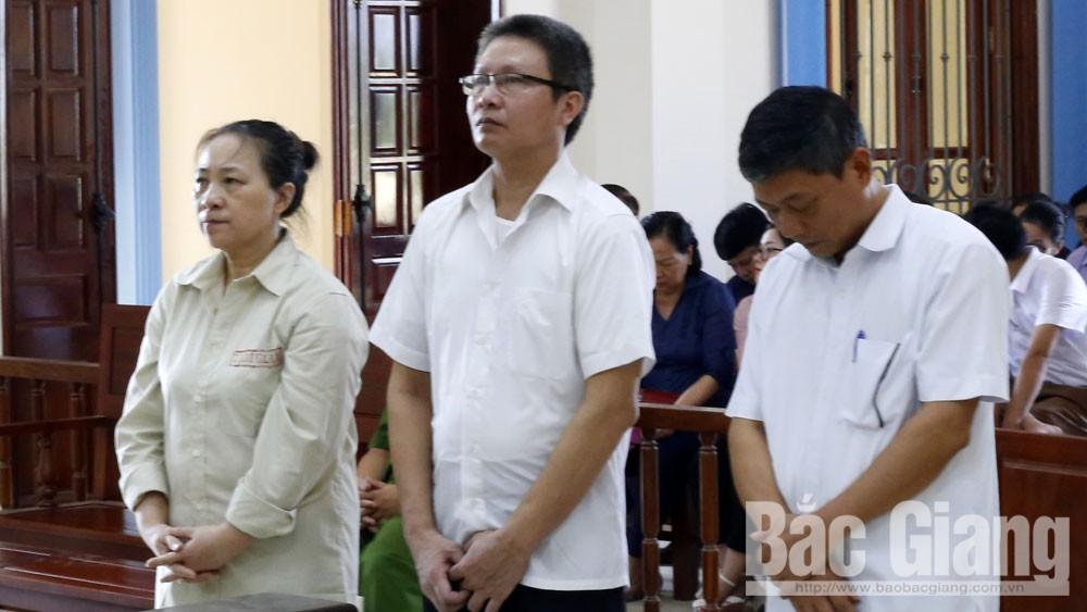 Nguyễn Tiến Duẩn, Vũ Thị Tiền, TAND tỉnh Bắc Giang, lạm dụng quyền hạn gây hậu quả
