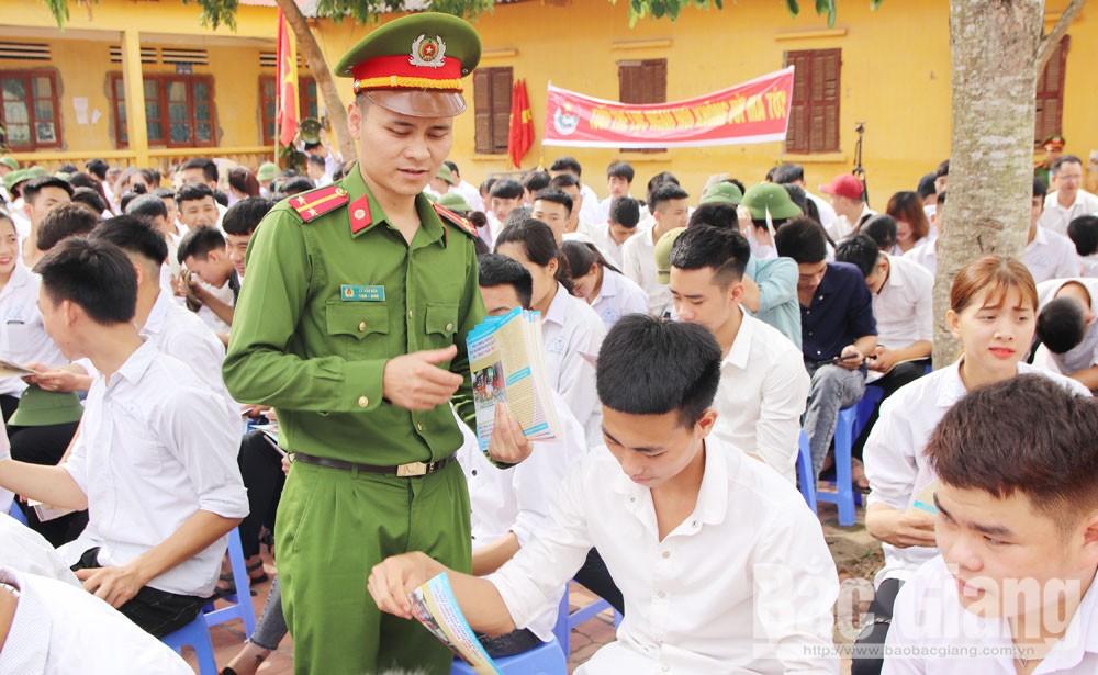 Bắc Giang, tội phạm, vị thành niên, vi phạm pháp luật, gia đình, tuyên truyền, giáo dục, phòng ngừa