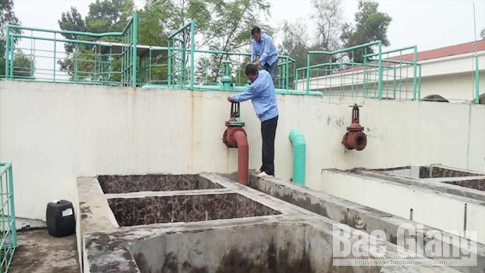 Trạm xử lý nước sạch thị trấn Cầu Gồ (Yên Thế) được đầu tư mở rộng từ nguồn vốn WB.                                 Ảnh: Như Hoa